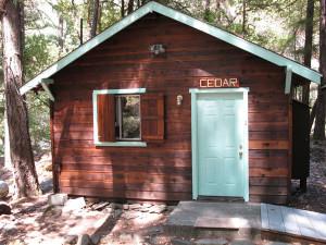 Cedar Cabin Exterior