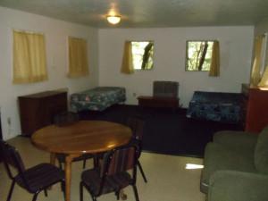 Cedar Cabin Interior