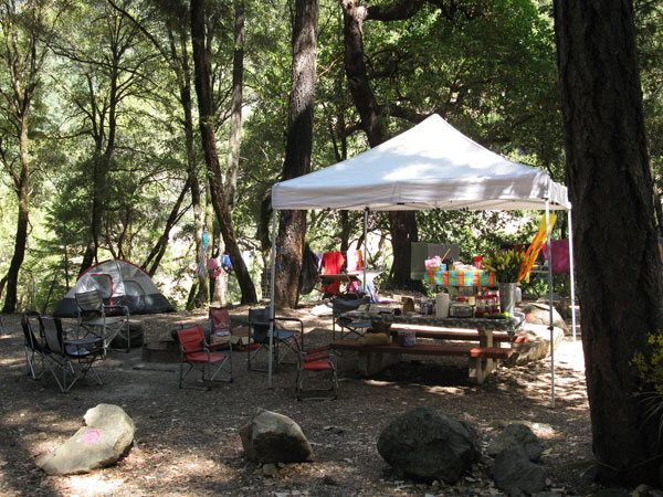 Camp Site Tents