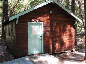 Pine Cabin Exterior